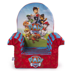 Upholstered High Back Chair - Paw Patrol