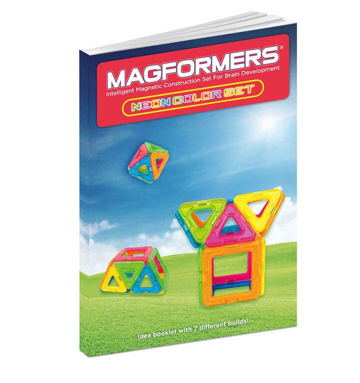 Magformers Neon 14 Piece Set