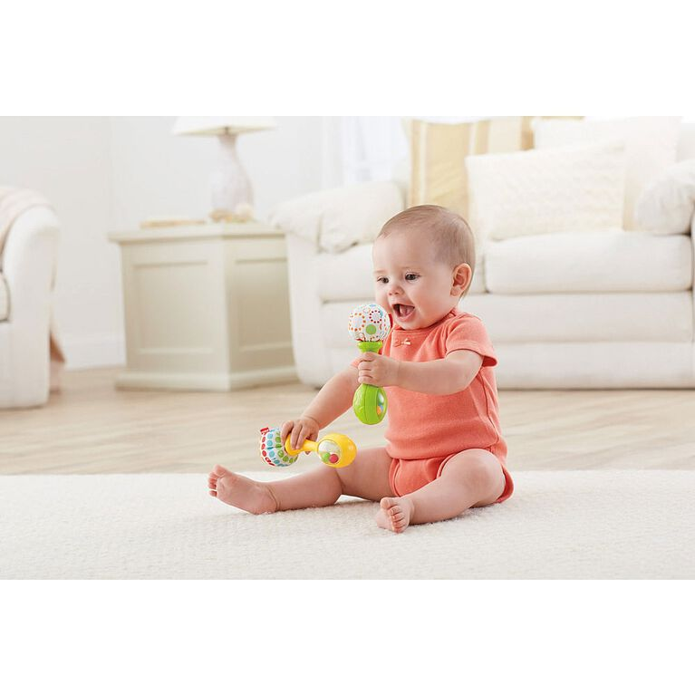 Fisher-Price Shake 'n Rattle Maracas