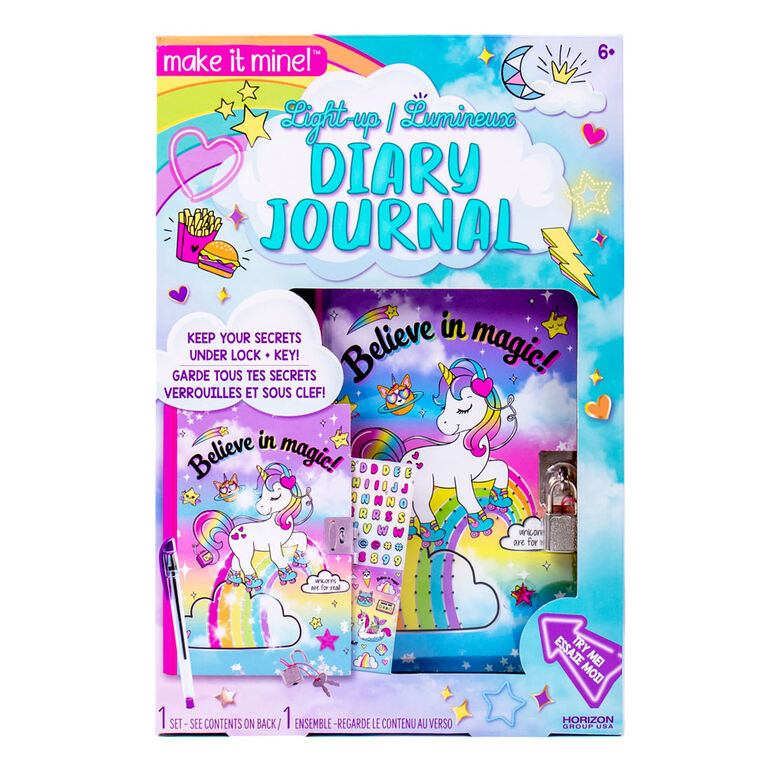 Make It Mine Light Up Diary - R Exclusive