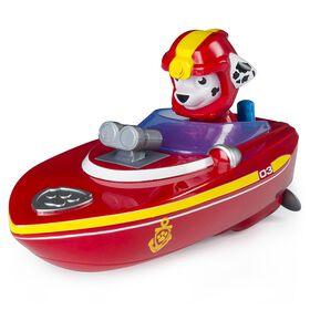 Paw Patrol - Bath Paddling Sea Patrol Pup Boat – Marshall