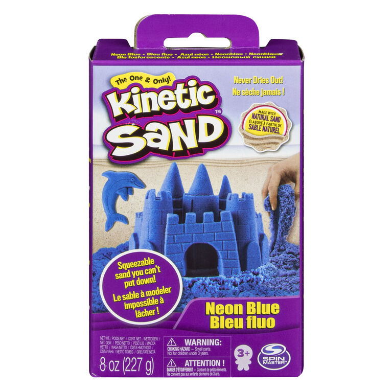 Kinetic Sand - 8 oz (227 g) de sable mauve