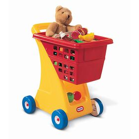 Little Tikes - Shopping Cart - Primary Colors