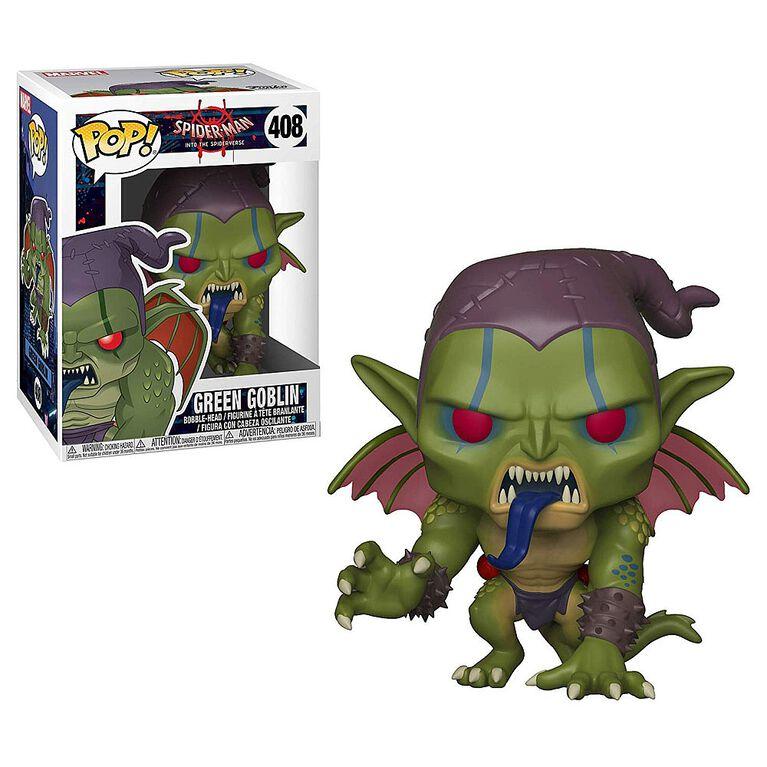 Funko POP! Marvel: Into the Spiderverse - Green Goblin Vinyl Figure