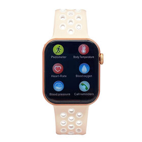 iTIME ELITE Health and Fitness Body Temperature Smartwatch with Heart Rate Monitor Blush