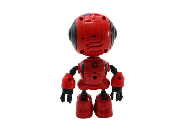 Braha Infrared Control Full Function Robot - Red