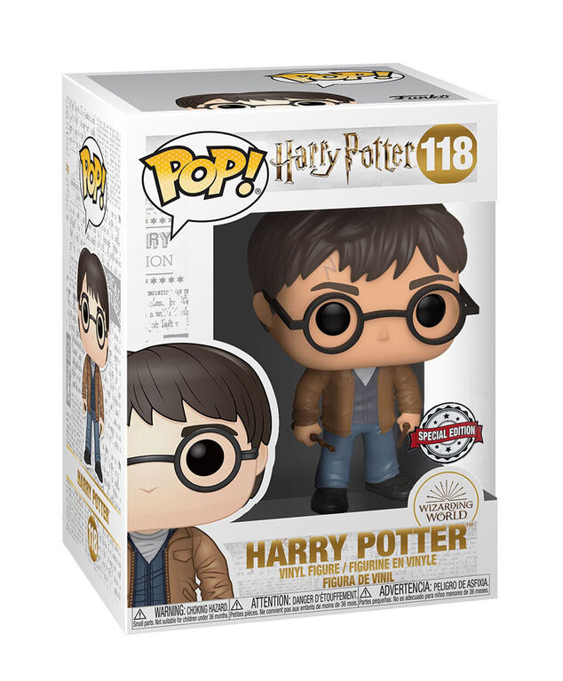 Funko POP! Harry Potter - Harry Potter with 2 Wands - English Edition - R Exclusive