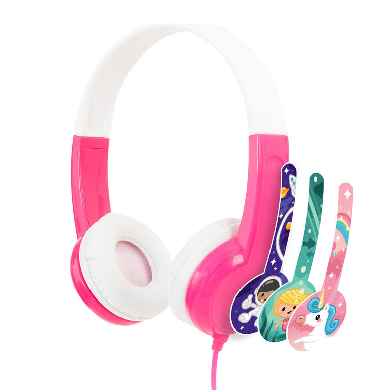 BuddyPhones Discover - Rose