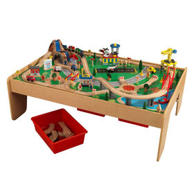 KidKraft - Waterfall Mountain Train Set & Table