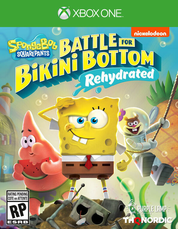 Xbox One - Battle Bikini Bottom Rehydrated