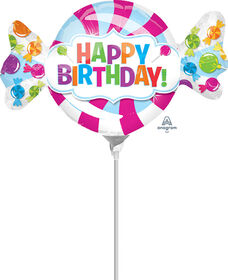 Anagram Birthday Mini Shape Air-Filled Balloon