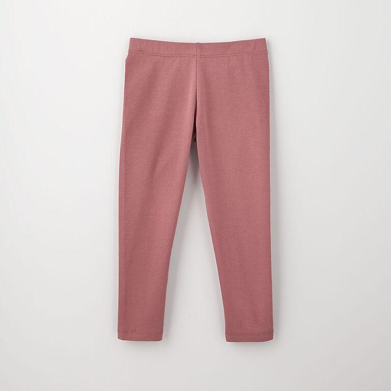 12-18m legging en coton biologique - raisin