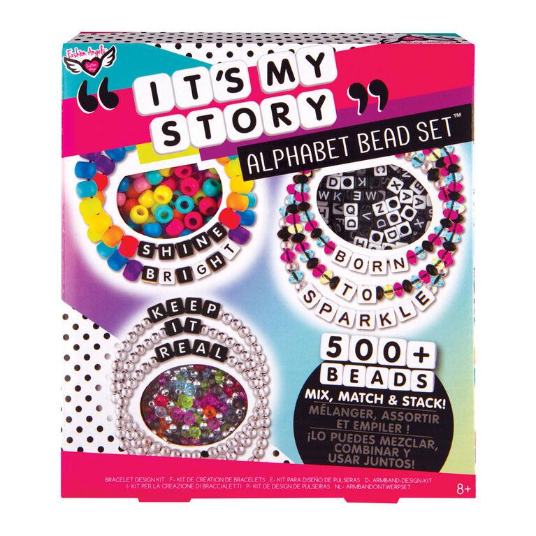 It's My Story Alphabet Bead Kit