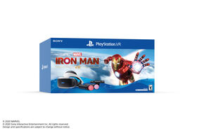 Playstation VR Headset With Ironman