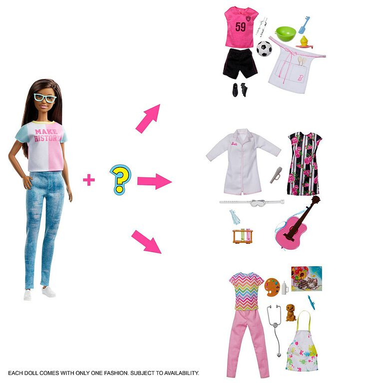 Barbie Doll and Surprise Accessories