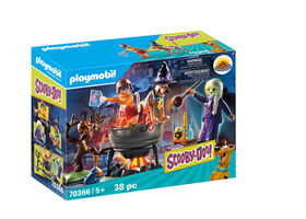 Playmobil - SCOOBY-DOO! Adventure in the Witch`s Cauldron