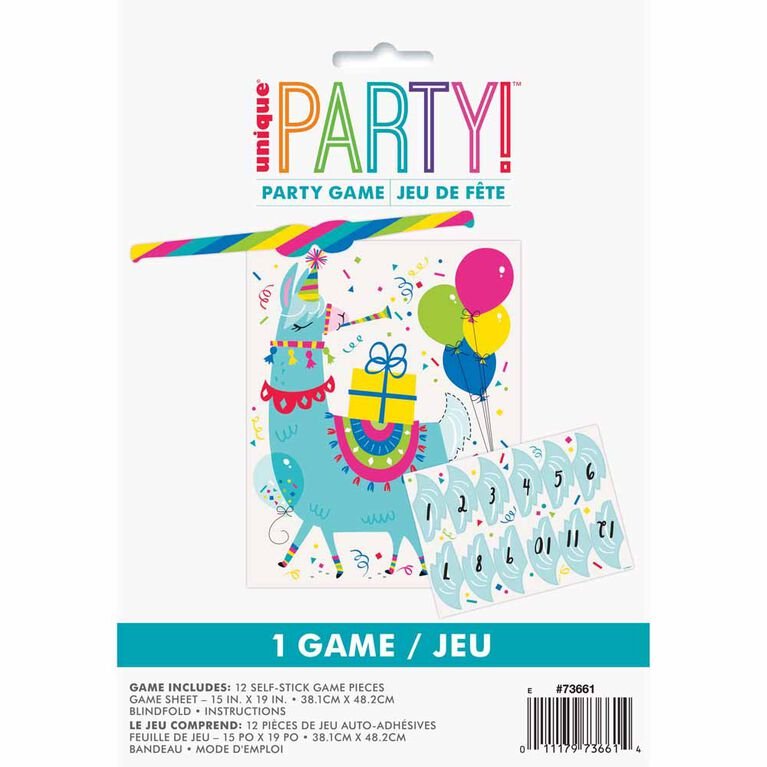 Llama Birthday Party Game for 12