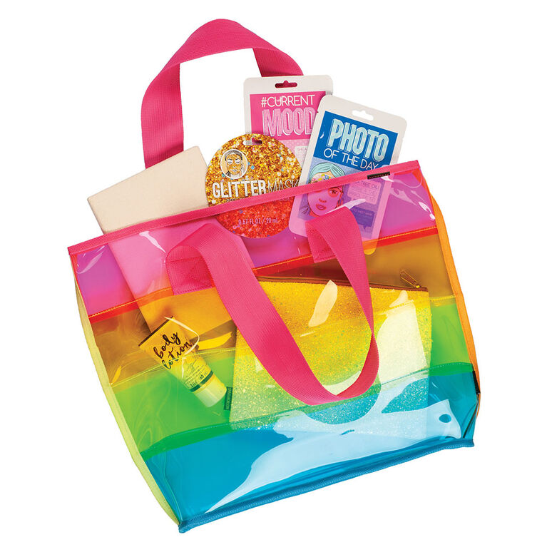 Fashion Angels - Transparent Rainbow Tote - English Edition
