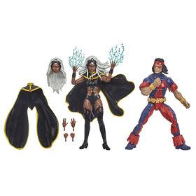 Hasbro Marvel X-Men Series, figurines Storm et Marvel's Thunderbird de 15cm à collectionner - Notre exclusivité
