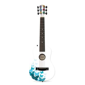 "First Act White Butterfly 30"" Acoustic Guitar"