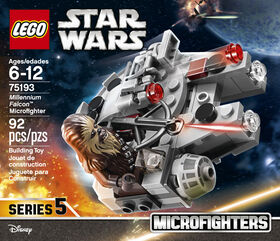 LEGO Star Wars  Microfighter Faucon Millenium™ 75193.