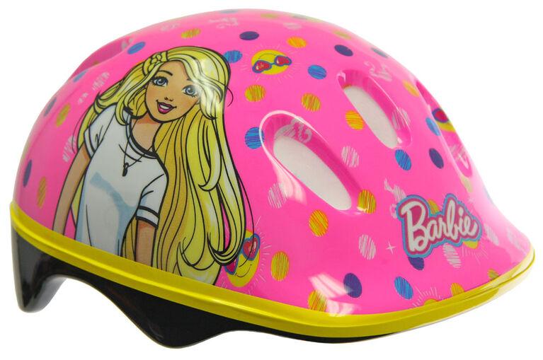 Barbie - Bike Helmet and Pad Set - Toddler