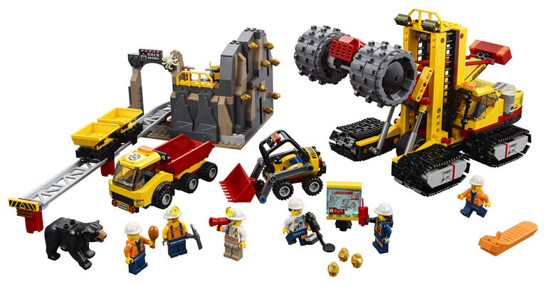 LEGO City Mining Mining Experts Site 60188