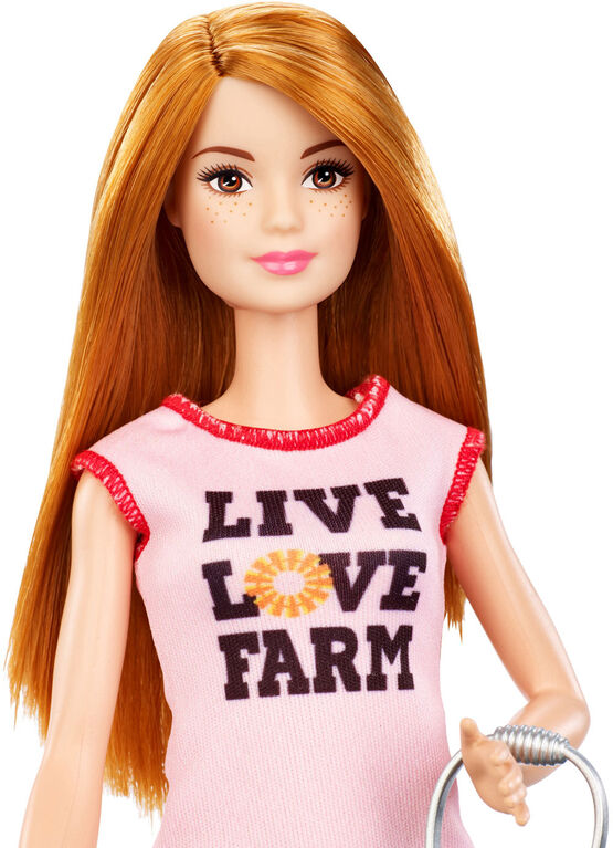 Barbie Chicken Farmer Doll & Playset