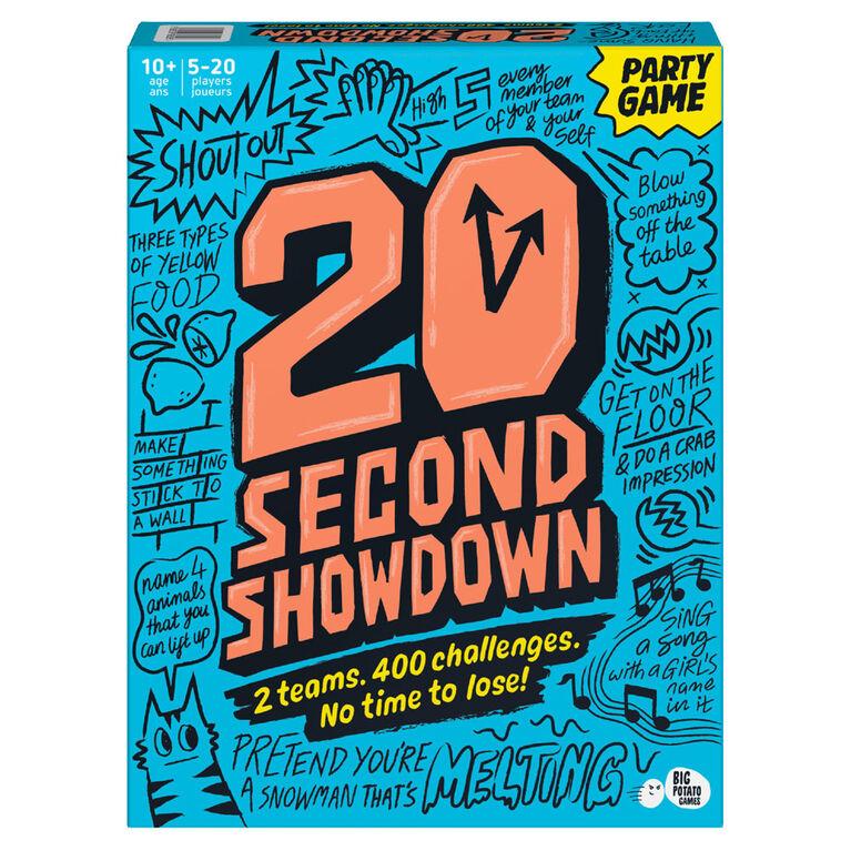 Big Potato - 20 Second Showdown Family Party Game