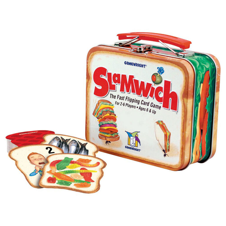 Gamewright - Slamwich Collector's Edition Jeu - Édition anglaise