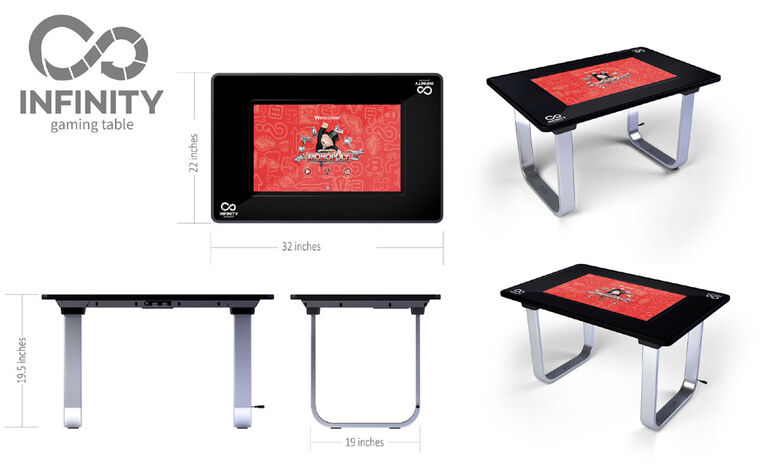 """1Up 24"""" Infinity Game Table"""
