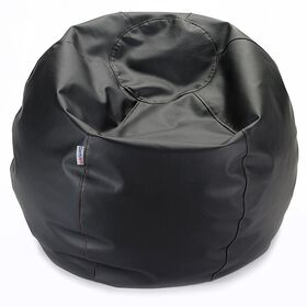 Comfy Kids - Comfy Teen Bag Beanbag in Black Vinyl