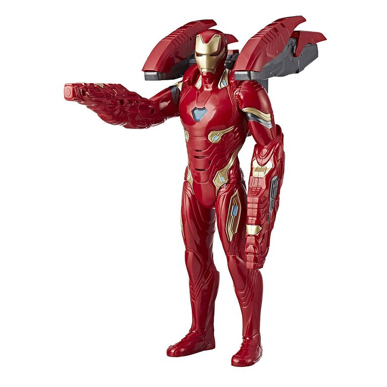 Marvel Avengers: Infinity War Mission Tech Iron Man Figure  - French Edition