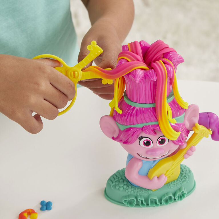Play-Doh Trolls World Tour Rainbow Hair Poppy