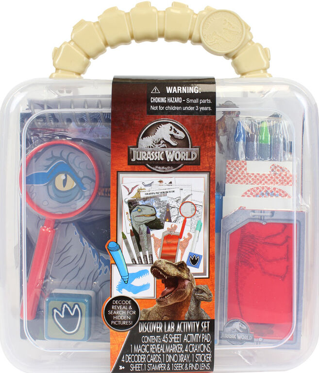 Jurassic Dig N Discover Activity Lab - English Edition