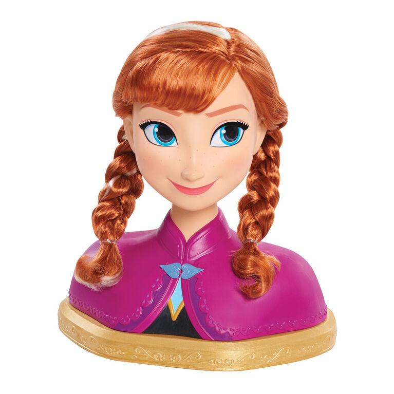 Disney Frozen Anna Deluxe Styling Head