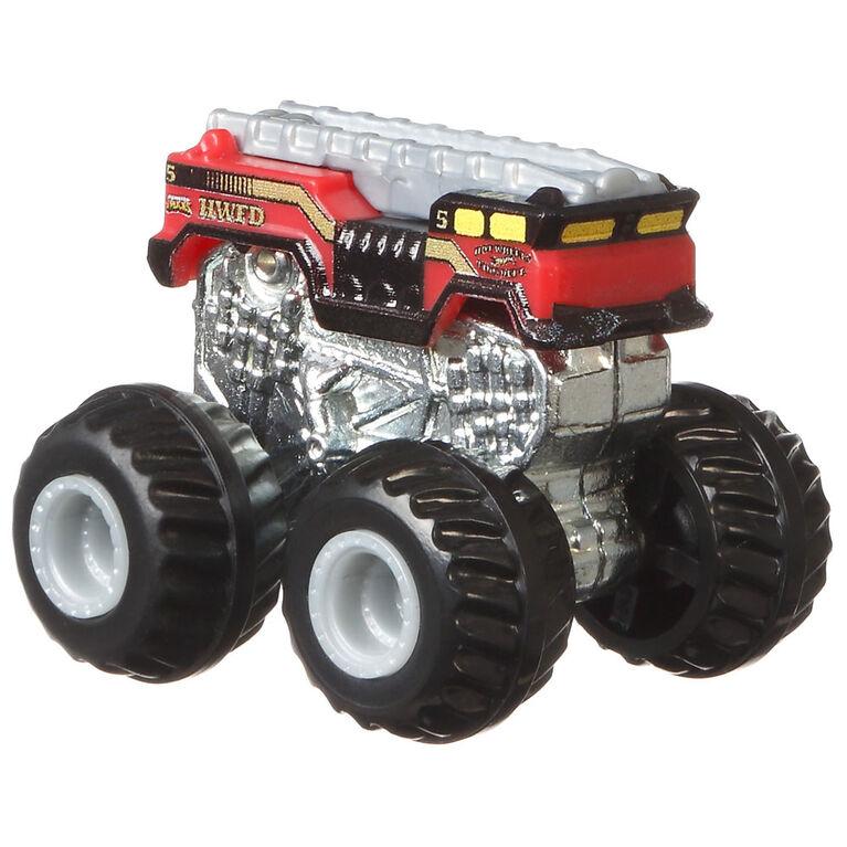Hot Wheels - Monster Trucks - Véhicule Mini 5 Alarm