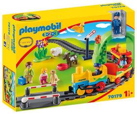 Playmobil 1.2.3. My First Train Set 70179