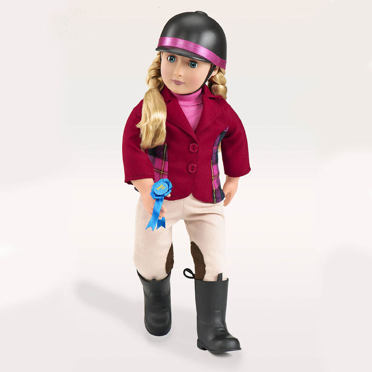 Our Generation, Lily Anna, 18-inch Posable Equestrian Doll