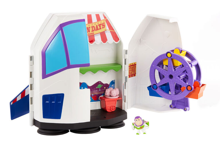Disney Pixar Toy Story Minis Buzz Lightyear's Star Adventurer Playset