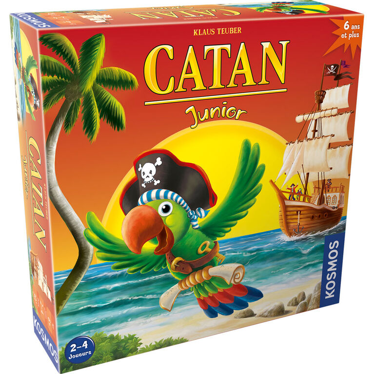 Catan Jr. - French Edition