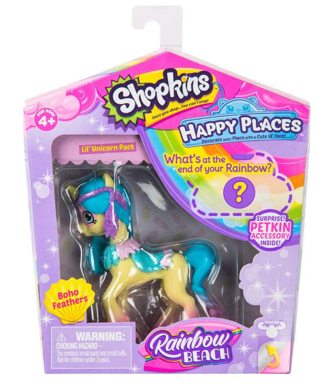 Shopkins Happy Places Emballage P Tite Licorne Simple Boho Feathers