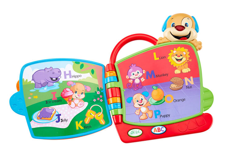 Fisher Price Laugh Learn Puppy S Abc Book English Edition