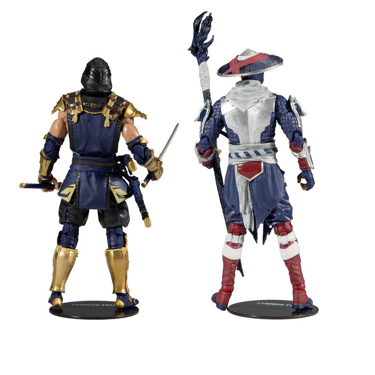 Mortal Kombat Multipack Collector - Scorpion et Raiden - Notre exclusivité