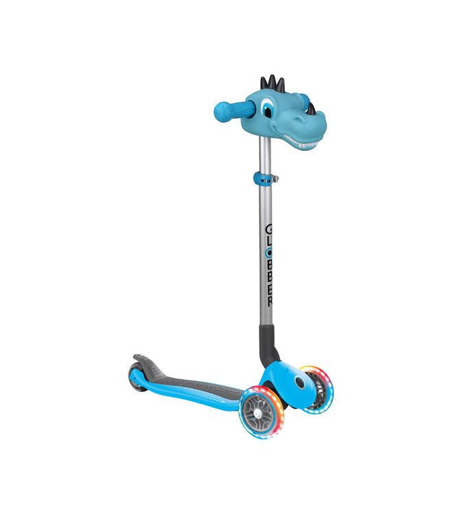 Blue Dino Scooter Head