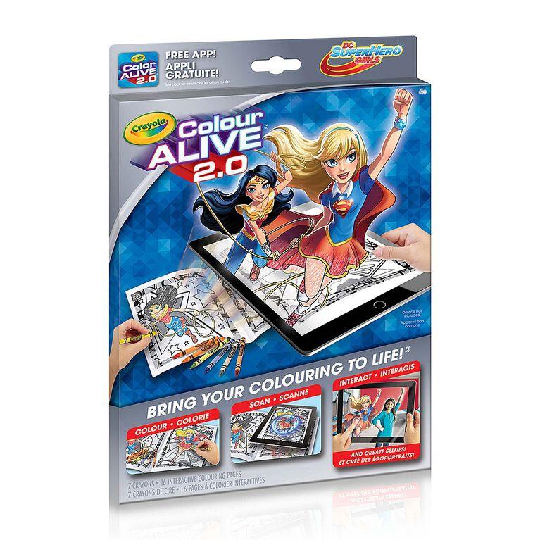 Colour Alive 2.0, Superhero Girls