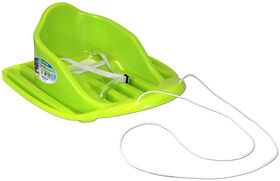 Dayglow Baby Sled Neon Green