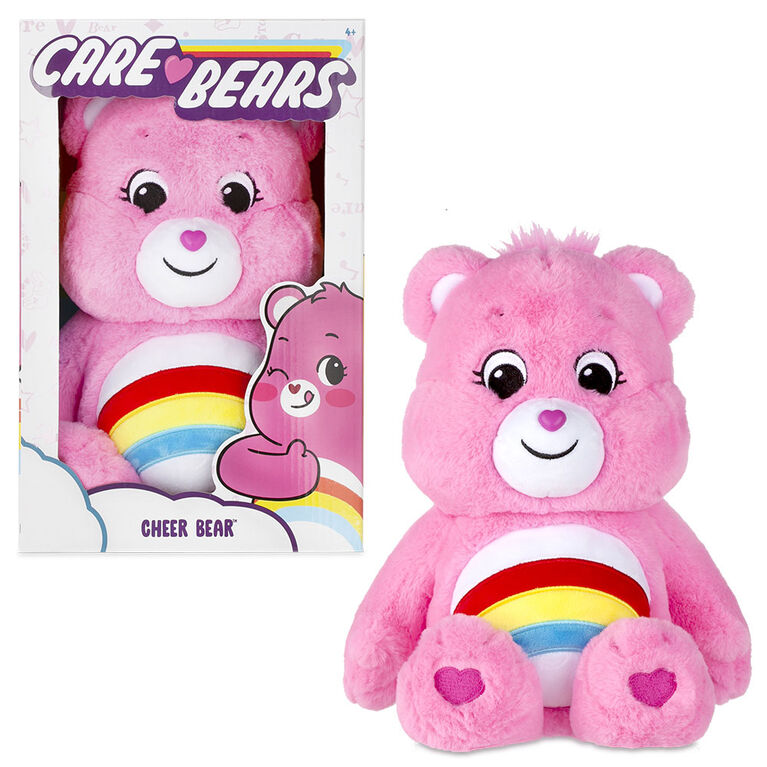 Care Bears Medium Plush - Cheer Bear