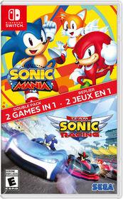 Nintendo Switch - Sonic Mania / Sonic Racing 2 Pack