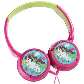 Volkano - Kids Swivel Headphones - Girls Unicorn